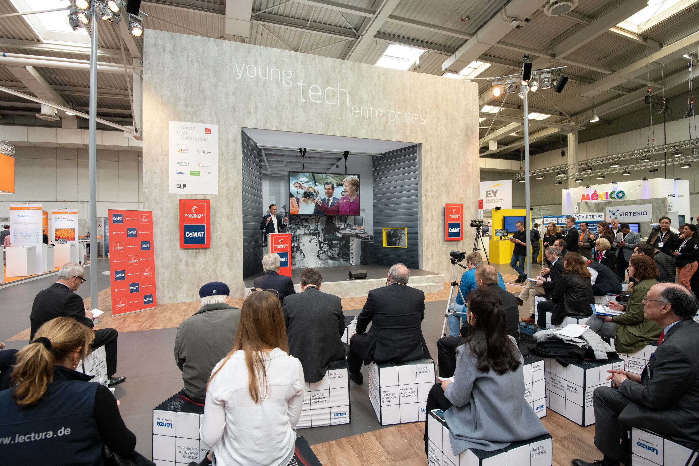 HANNOVER MESSE/CeMAT 2018, Young Tech Enterpises